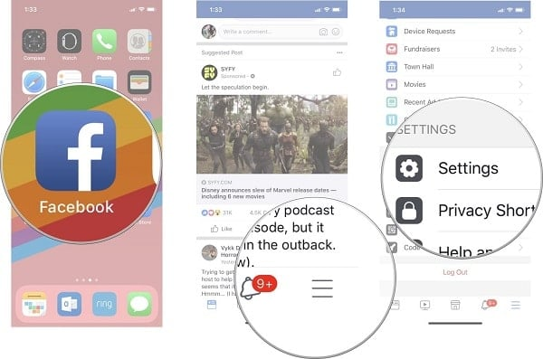 hướng dẫn chặn theo dõi trên facebook