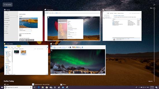 Windows 10: Spring Creators Update