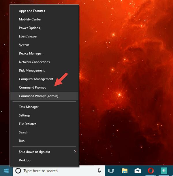hướng dẫn mở Command Prompt trên máy tính
