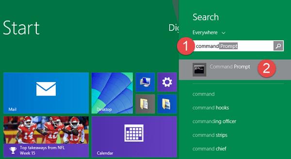 hướng dẫn mở Command Prompt trên laptop