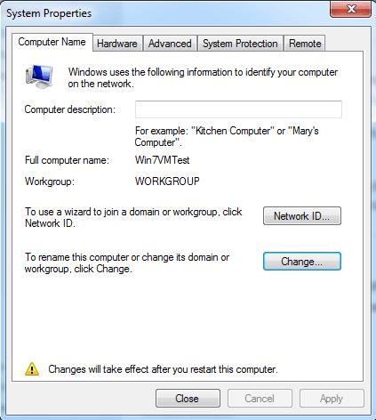 hướng dẫn đổi tên cho máy tính windows