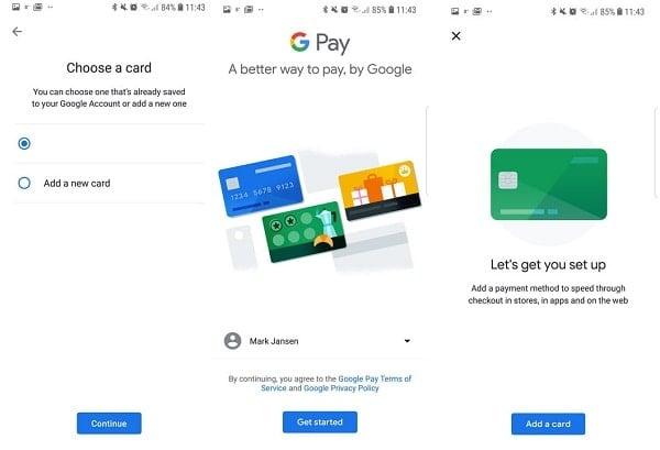 hướng dẫn sử dụng Google pay trên android