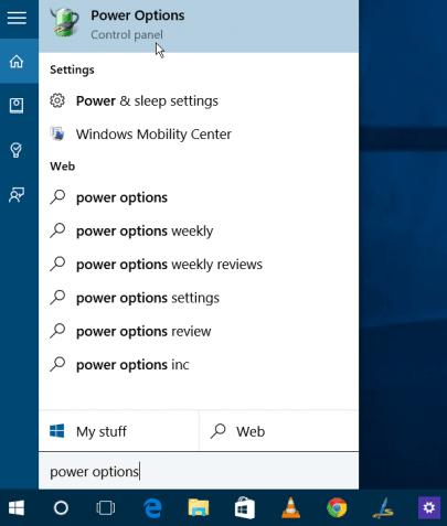 lỗi Hibernate trên laptop windows 10
