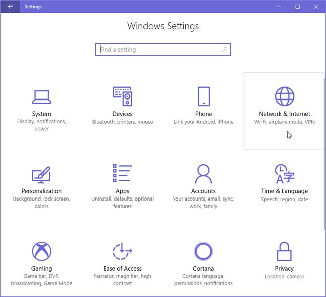 hướng dẫn dùng Sever proxy trên windows 10