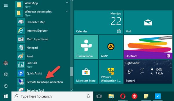 Cách dùng tính năng Remote Desktop Connection (RDC) trên Windows