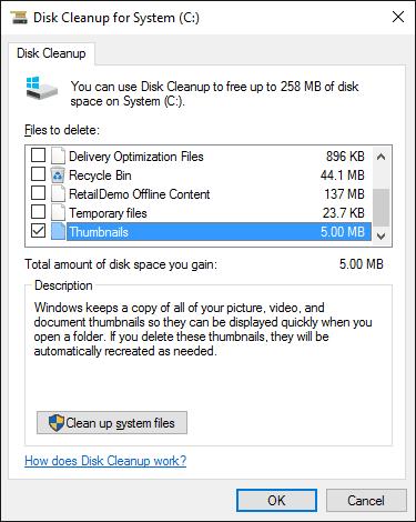 thủ thuật xóa cache trên PC win 10