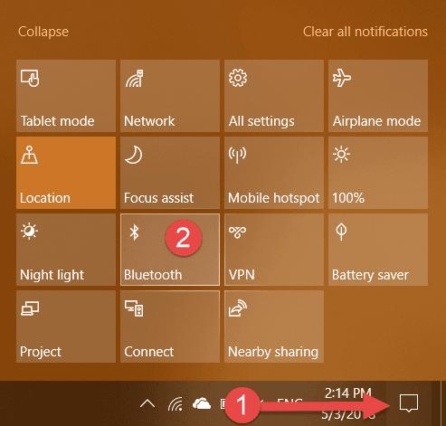 hướng dẫn sử dụng bàn phím bluetooth của windows 10