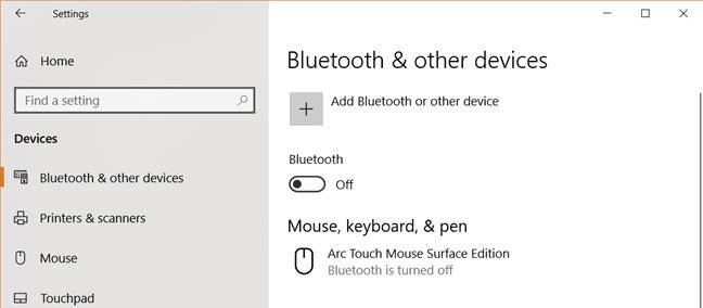 kết nối bàn phím bluetooth với laptop windows
