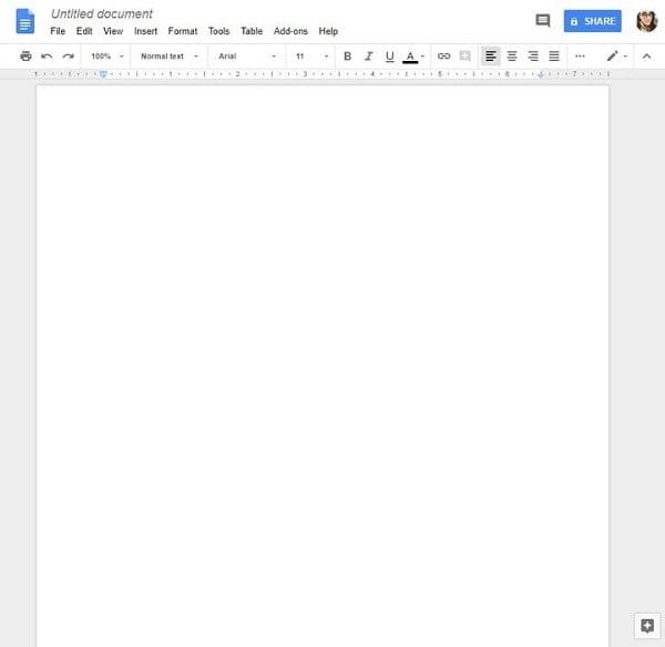 hướng dẫn sử dụng google tài liệu