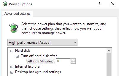 khắc phục lỗi 100% disk trên win 10