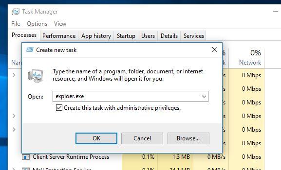 sửa lỗi màn hình màu đen trên windows 10 1803