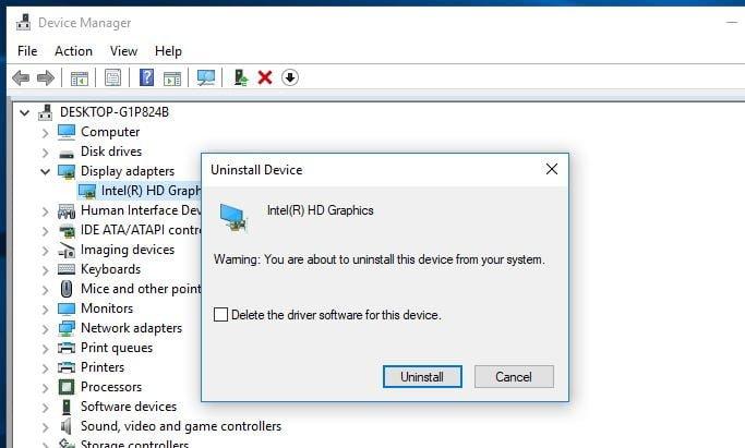 Cách sửa lỗi màn hình đen sau khi cập nhật Windows 10 1803