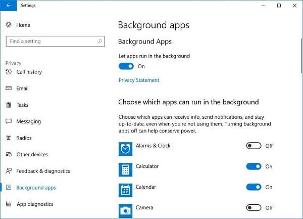 cách giảm lag cho windows 10 pc