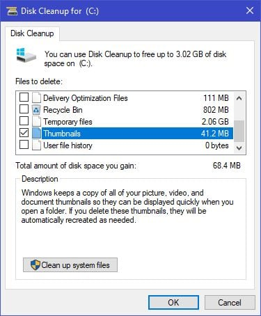 tăng bộ nhớ trên máy tính windows 10