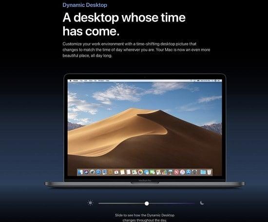 hướng dẫn bật dark mode trên máy tính mac