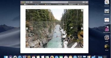 hướng dẫn màn hình máy tính macOS Mojave
