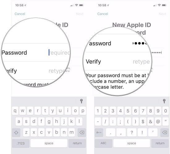 quên tài khoản apple id trên iphone