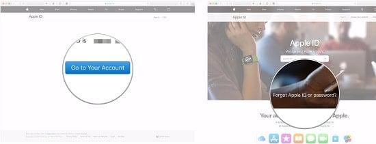 hướng dẫn reset mật khẩu icloud