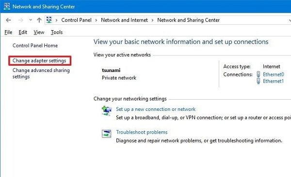 hướng dẫn tìm iP của laptop windows 10