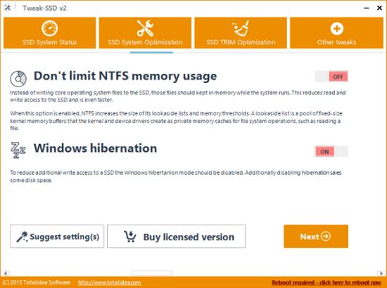 Tweak-SSD cho windows 10 pro