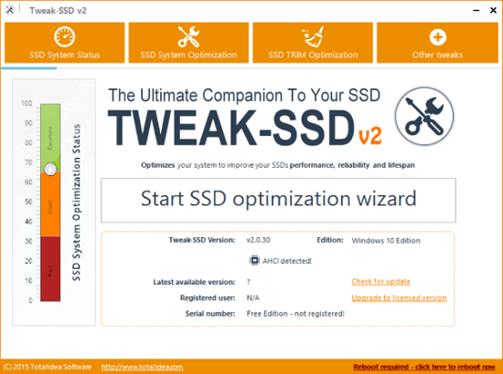 download Tweak-SSD cho windows