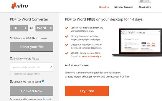 chuyển PDF sang word cho máy tính
