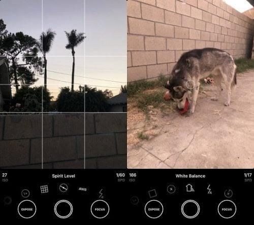 hướng dẫn dùng Obscura 2 trên iphone