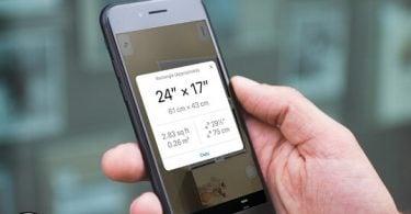 do kích thước trên iphone ios 12