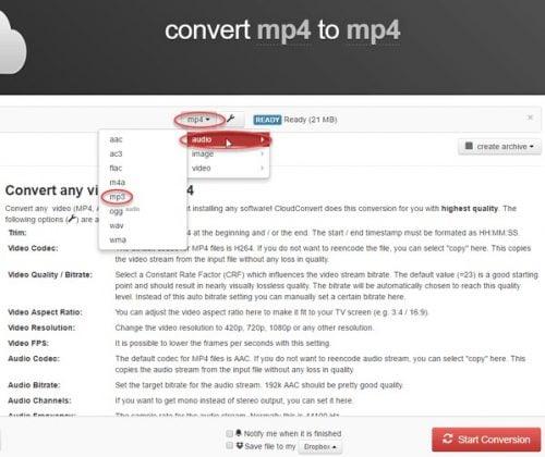 trang web chuyển nhạc từ youtube sang mp3