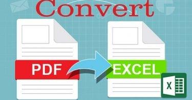 phần mềm chuyển pdf sang excel full