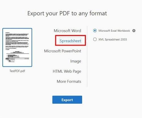 phần mềm chuyển pdf sang excel