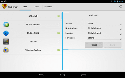 tải supersu cho root android