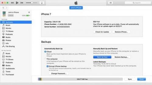 khôi phục dữ liệu iphone bằng icloud