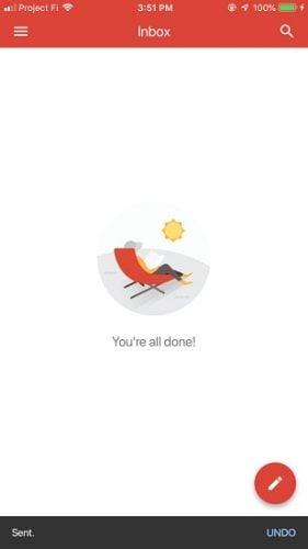 thu hồi gmail trên android