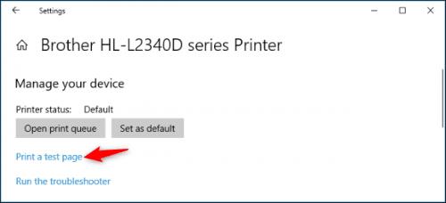 Cách cài đặt máy in mặc định trong Windows 10