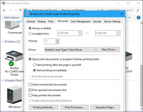 Hướng dẫn kết nối máy in với máy tính Windows 10