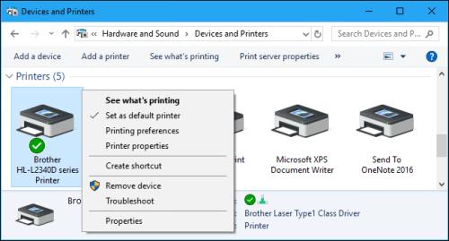 Cách cài đặt máy in trên Windows 7/ 8/ 10 và qua mạng Lan