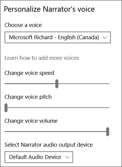 cách tắt giọng nói trên win 10