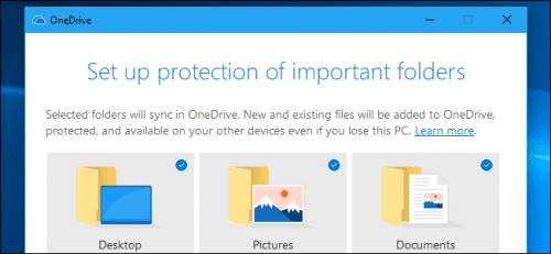 tính năng bảo vệ thư mục OneDrive mới