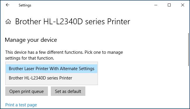 máy tính không nhận máy in