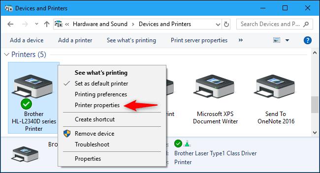 cách kết nối máy in với máy tính win 7