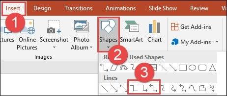 cach vẽ thêm mũi tên trên PowerPoint
