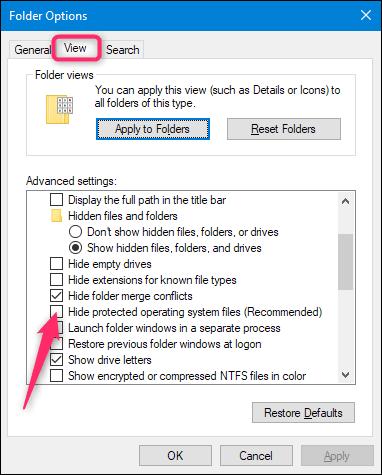 Windows System File? là gì