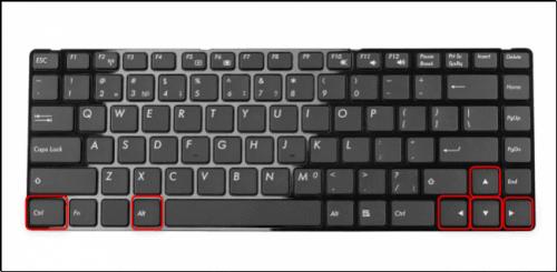 cách xoay màn hình máy tính win 10