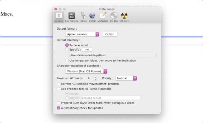 Convert iTunes trên MAC