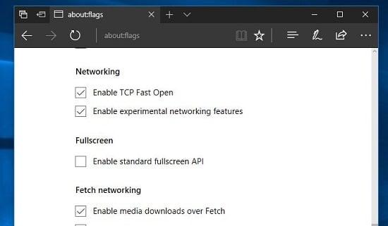Microsoft Edge trên windows 10 mượt hơn