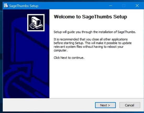 biểu tượng PSD trong File Explorer