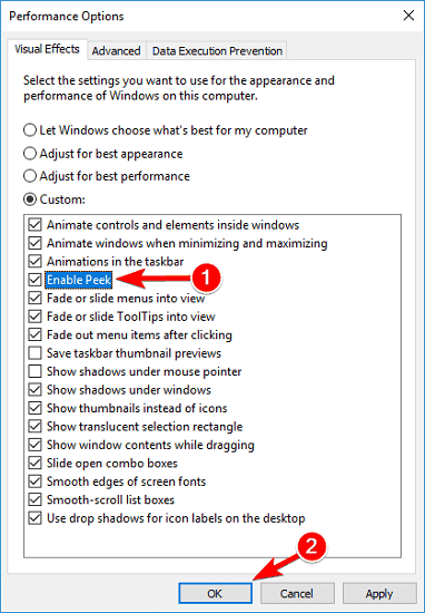 alt tab không chuyển cửa sổ