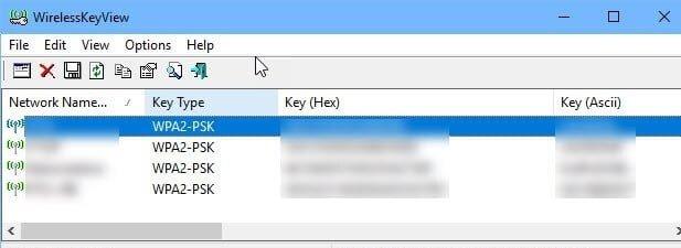 xem lại mật khẩu wifi trên laptop win 10