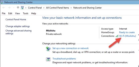 cách lấy mật khẩu wifi từ mạng dây